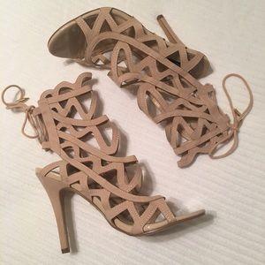 Windsor brand Thread market heels open toe